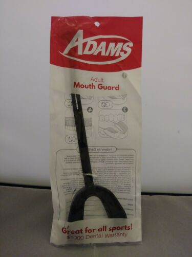 Adams Adult Mouth Guard Black Lot of 5