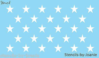 Star Stencil Patriotic Border Amercian Flag Barn Stars Craft Scrapbook Art Signs