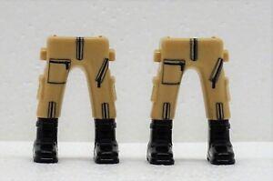 2 x JAMBES BRUN CLAIR BEIGE BOTTES Playmobil à US armée soldats du désert Cargo