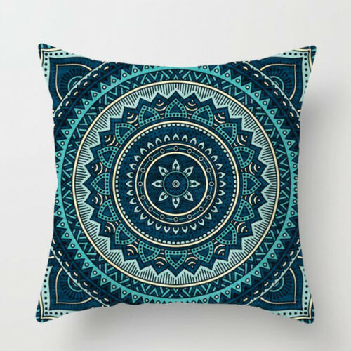Ethnic Mandala Cotton Linen Throw Cushion Cover Pillow Case Car Home Sofa Decor