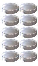 Confezione da 10-Chrome plastidoma 2 PEZZI longitudinali A CUPOLA Tappo a Vite Copertura Protettore