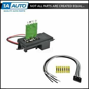 front heater blower motor resistor w plug pigtail for chevy gmc Chevy Blower Motor image is loading front heater blower motor resistor w plug