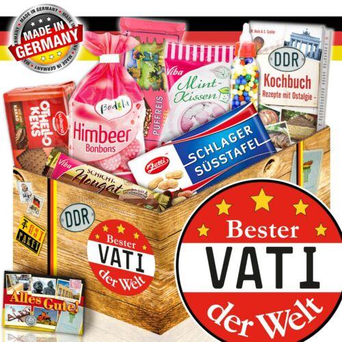 Geschenkset für den besten Vati der Welt - DDR Süßigkeiten Box 3052BVatiW