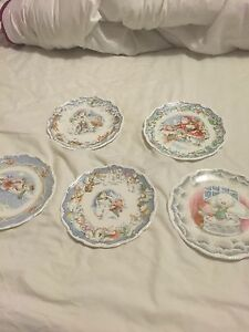 Royal Doulton Snowman Plates Complete Collection Including The Visit - Leicester, United Kingdom - Royal Doulton Snowman Plates Complete Collection Including The Visit - Leicester, United Kingdom
