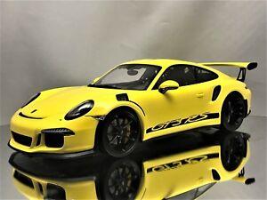 1:18 Minichamps Porsche 911 gt3 RS 2015 white 991