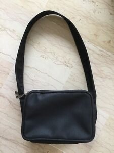SAC-SHOPPING-BANDOULIERE-MULTIPOCHES-NOIR-EN-TOILE-IDEAL-VOYAGE-DEPLACEMENTS