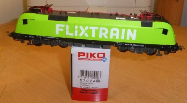 """PIKO 57924 locomotiva elettrica Taurus 182 livrea /""""FLIXTRAIN/"""" epoca VI"""