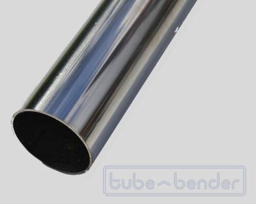 "Pipe 1.5mm Wall 1.5/"" 1000mm 304 Stainless Steel Exhaust Round Tube 38mm OD"