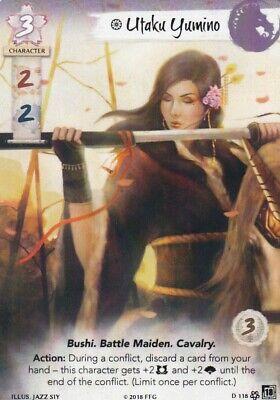Legend Of The Five Rings L5R Akodo Toturi Alt Art