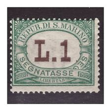 SAN MARINO 1925 -  SEGNATASSE LIRE 1   NUOVO **