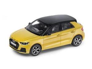 Details Zu Audi A1 Sportback 1 43 Modellauto Miniatur Phytongelb Gelb 5011801032