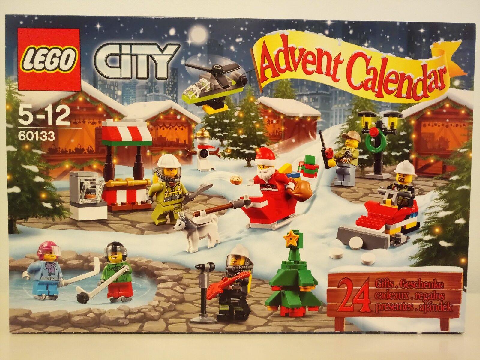 Lego City Christmas  Advent Calendar 60133  prix plancher