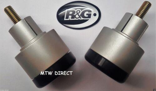 R/&G RACING HANDLEBAR SLIDERS// BAR END WEIGHTS TRIUMPH SPEED TRIPLE 1997 TO 2010