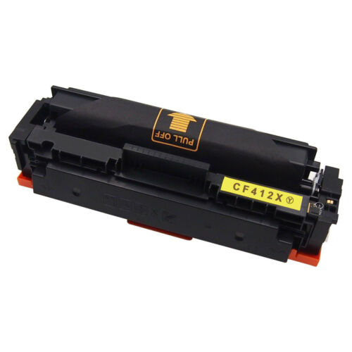 4PK High Yield Toner Cartridge For HP 477X CF410X M452dw M477fdw M477fnw Printer