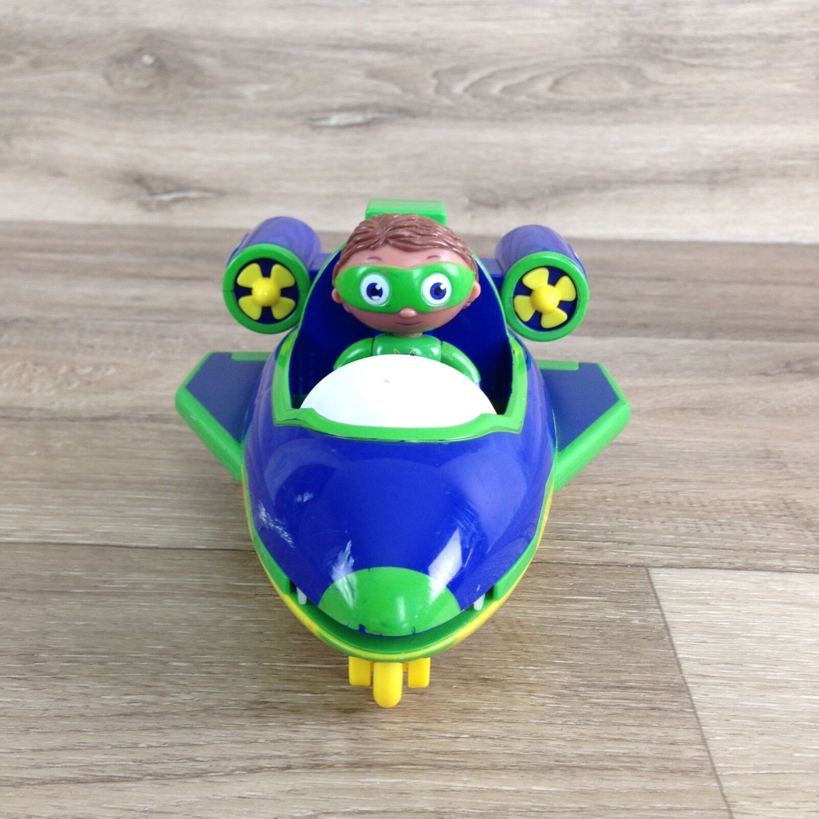 Large 6  Super Why by Learning Curve Wyatt Hovering Why Flyer Hovercraft PBS