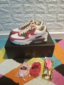 Nike Air Max 90 NRG 'Bacon' Brown Pink Burgundy Tan Size 5.5UK Brand new in Box