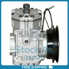 New Ac Compressor With Clutch York Fits Ford Mustang 1964 To 1971