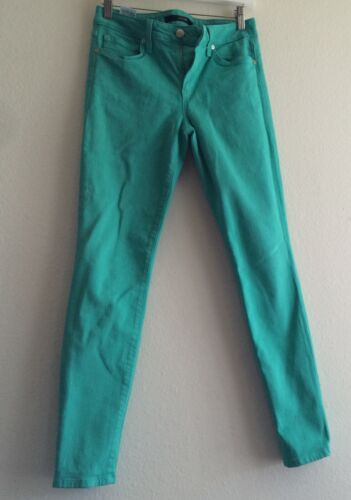JOE'S JEANS Skinny Ankle Mid-rise  in Mint Green W