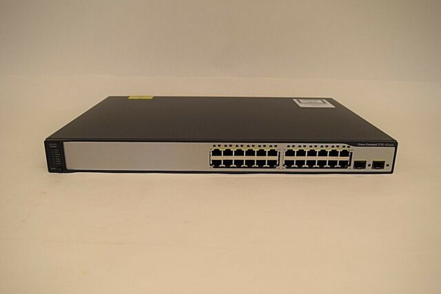 Cisco Catalyst 3750V2-24TS - switch - 24 ports
