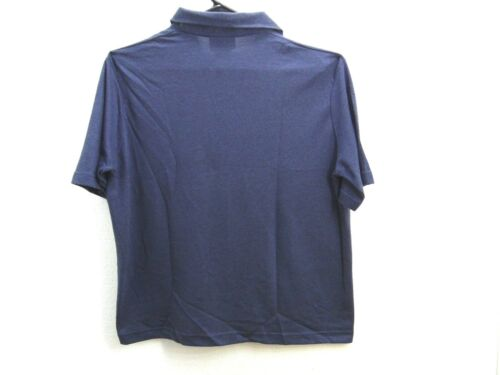 New polo shirt Outer Banks brand blue color size medium adult poly//cotton  XM17