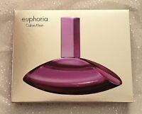 Calvin Klein Euphoria Perfume Gift Set Edp 50ml,purse Edp 10ml,body Lotion 100ml