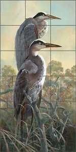 Heron-Tile-Backsplash-Robert-Binks-Lodge-Art-Ceramic-Mural-REB020