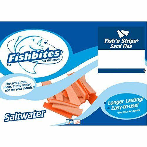 FishBites  51 LL Brown SandFlea F Strip 15CT 1912