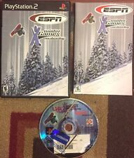 ESPN WINTER X GAMES SNOWBOARDING COMPLETE PLAYSTATION 2 TESTED