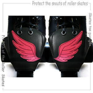 Leather Woman Roller Derby Skates Toe Guards Roller Skates Laces/Wheels/Tool