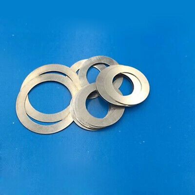 M5 Ultra-Thin Flat Washers Small Outer Diameter Flat Gasket 0.1-1.0mm Thick