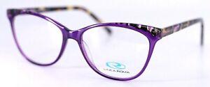 LINEA ROMA CLASS 466 C1 Purple Tortoise Womens Eyeglasses 54-16-140 ITALY PB1