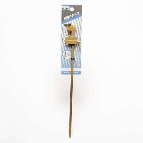 KAKURI JAPAN Traditional HATAGANE Brass Clamp DIY Carpenter Set of 2 150-300mm