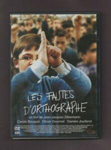 DVD - LES FAUTES D'ORTHGRAPHE avec Carole BOUQUEt, Olivier Gourmet, ...