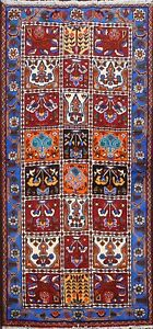 Garden-Design-Bakhtiari-Hand-knotted-Area-Rug-Traditional-Oriental-Carpet-3x6-ft