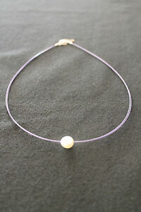 NECKLACE-STEEL-AND-PEARL-RRP-20-10-OFF