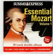 (GO565) Mozart, Essential Mozart Volumes 1+2 - 2006 Sunday Express CD