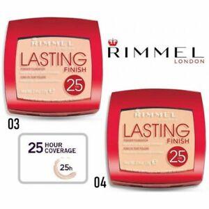 Rimmel lasting finish powder foundation