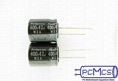 5 x Rubycon CFX series 400V 22UF 105c Power Supply High Ripple Current Capacitor