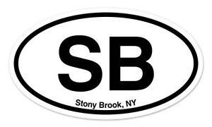 Stony Brook Seawolves NCAA Decal Sticker Truck Window Bumper Laptop Wall