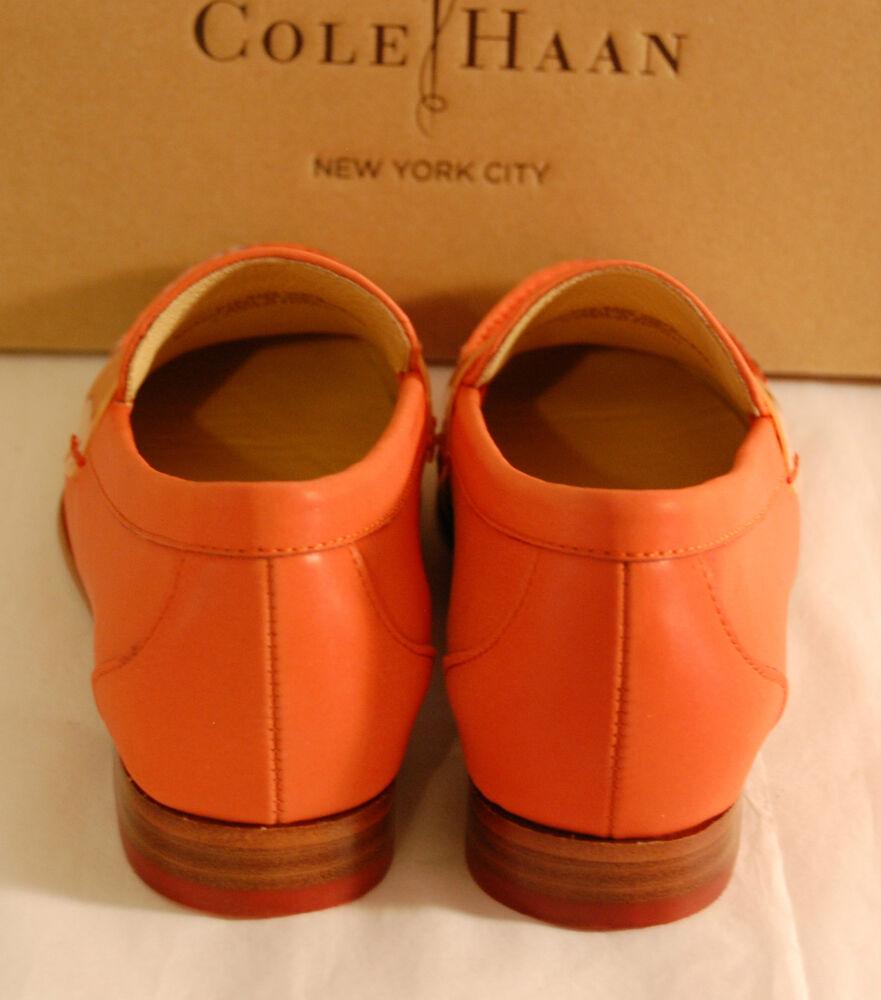 NOUVEAU 198 Cole Haan REFLECTIVE REFLECTIVE REFLECTIVE Nike Air Monroe Penny Orange Pop Loafer lot Chaussures de sport pour hommes et femmes c59efd