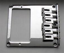 Guitar Parts TELECASTER BRIDGE - 6 Saddle - Cut for Humbucker - CHROME