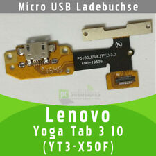 Lenovo Yoga Tab 3 10 YT3-X50F X50M Micro USB Buchse Flex Connector Volume Knopf