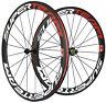 Superteam 700C 50mm Ultra Light Carbon Wheels Clincher Carbon Road Bike Wheelset