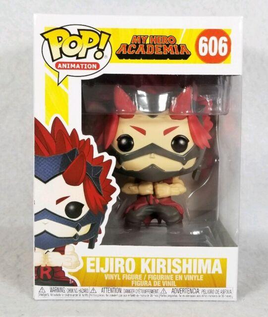 New Funko Pop! Animation My Hero Academia Eijiro Kirishima #606 Vinyl Figure