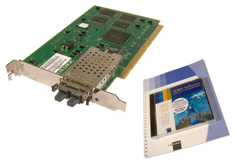 LSi Sun LSI40909G-S FC with SW GIBIC Host Adapter Card 348-0044887A - 348-004394
