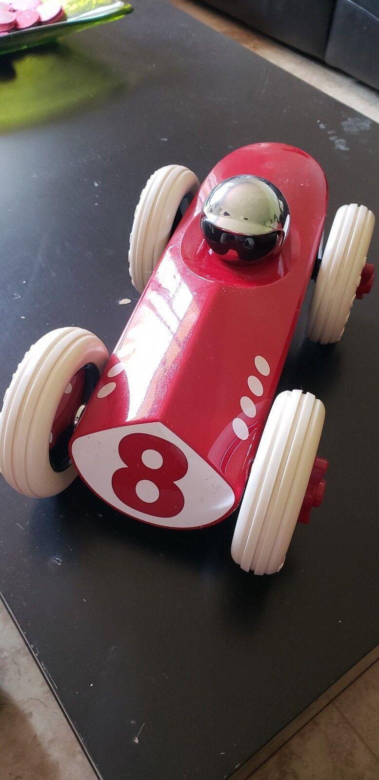 "Playforever 12"" Toy Race Car for Hugo Boss Store Display Model rot  8 Very Rare"