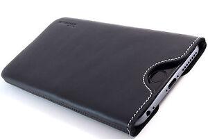 HTC-One-M8-Cuero-Funda-de-Movil-Negro-carcasa-Bolsita-Funda-DESEO-DE-GRABADO