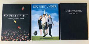 Seis-Pies-Bajo-DVD-LOTE-TEMPORADA-3-4-y-5