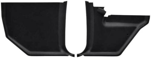 1966-70 Mopar B-Body Kick Panels Pair Black