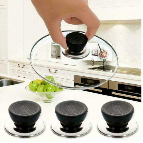 Replacement Knob Handle For Glass Lid Pot Pan Cover Cookware 6 1//2//3pcs df